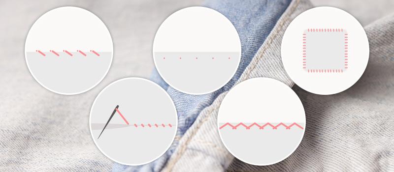 まつり縫いとは?どんな種類がある?